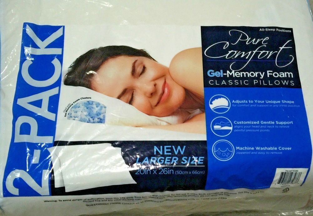 how to wash gel memory foam pillows
