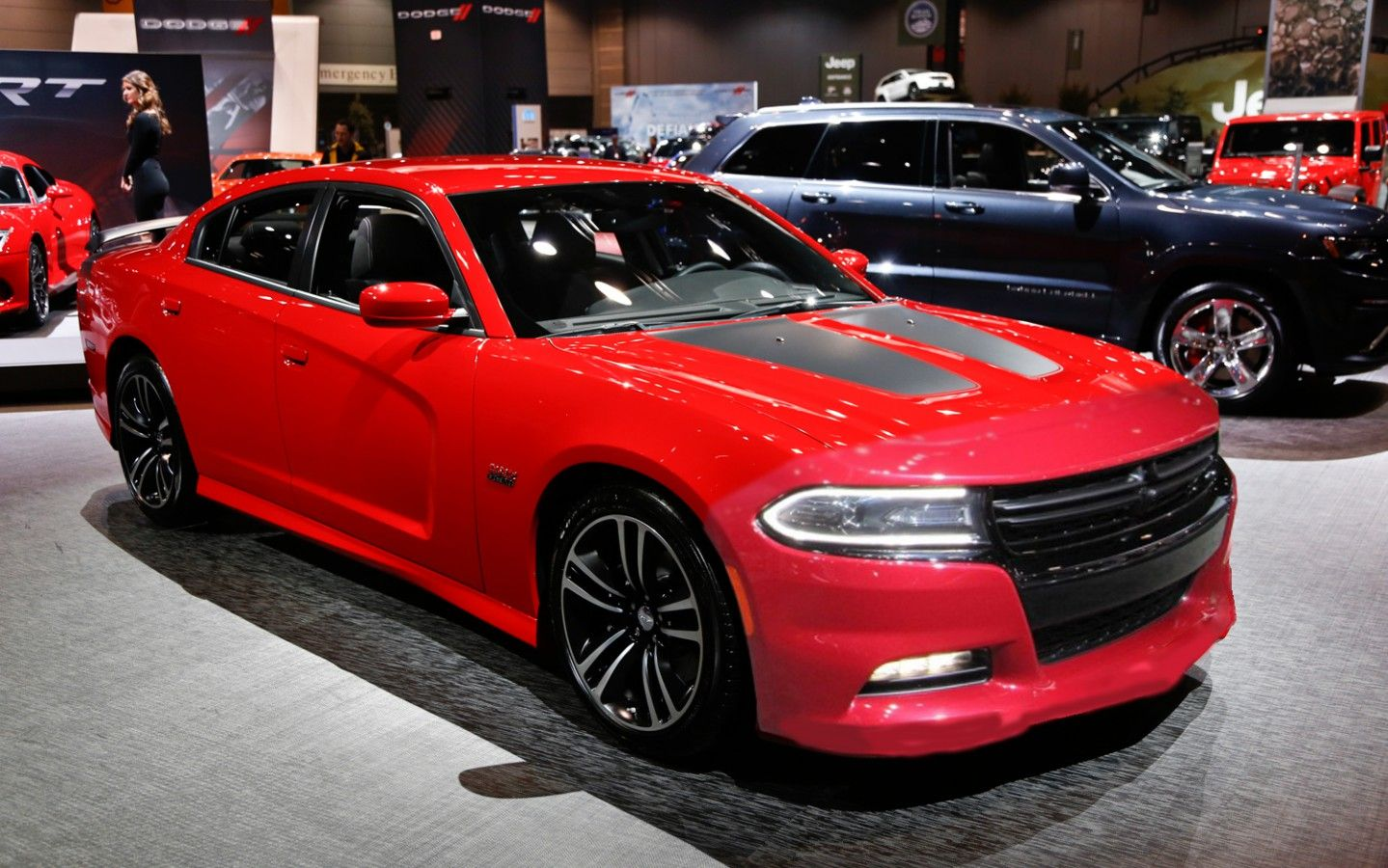 Dodge Charger Hellcat 2017 Srt8 To Be The Most Ful V8 Sedan
