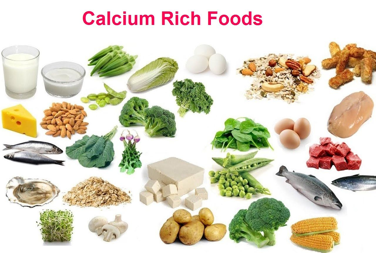 Natural Sources of Calcium in Food | Sources of Minerals ...