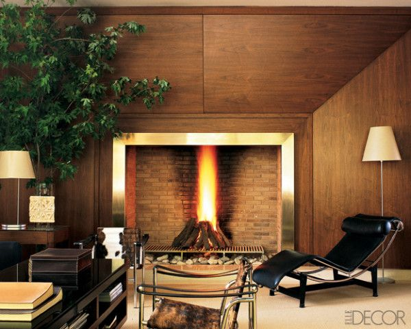 Unique Fireplace Mantels 21 elegant and cozy fireplaces to help you escape the cold