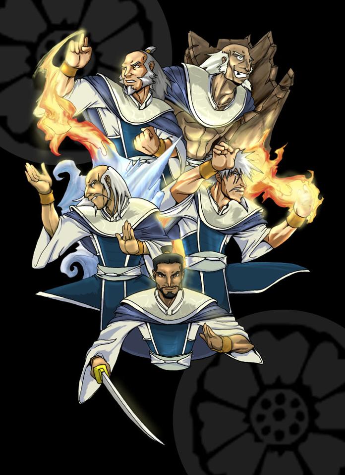 The White Lotus Avatar The Last Airbender Art Avatar The Last