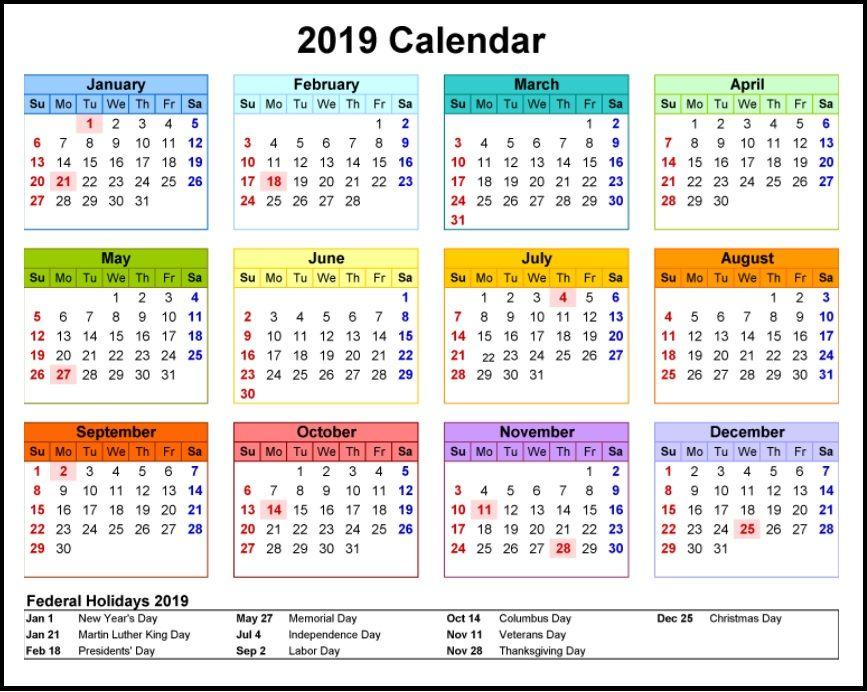 Yahoo Calendar 2021 usA 2019 calendar   Yahoo Image Search Results | Calendar template