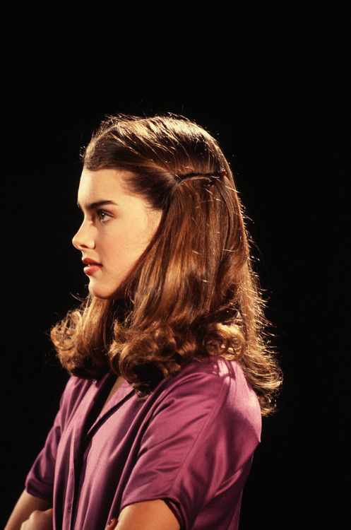 Brooke Shields. I had a doll that looked like her when I was little.