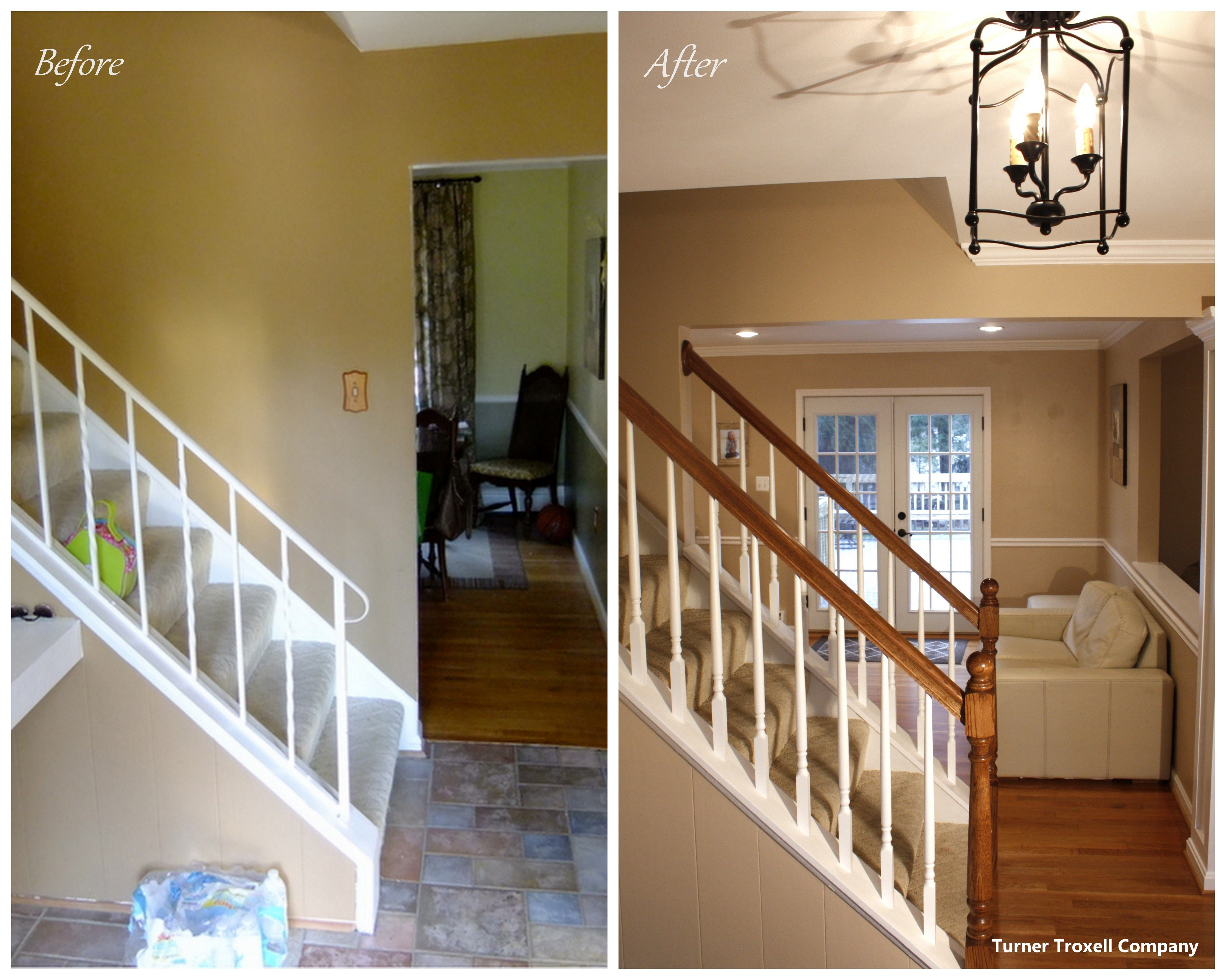 Before And After It S Amazing What Knocking Down Walls And A