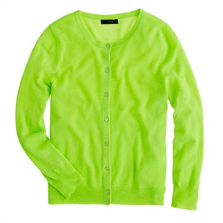 Neon Green Cardigan | I have a shopping problem... | Pinterest ...