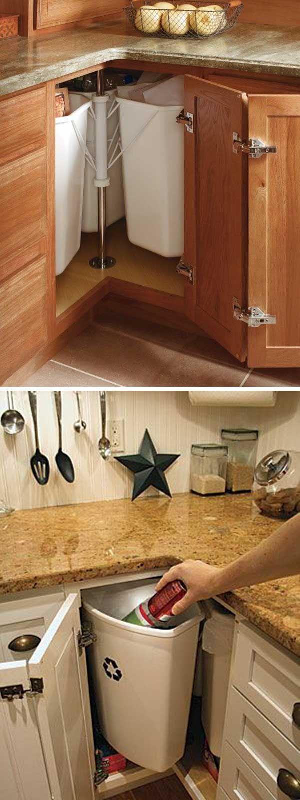 Fabulous Hacks To Utilize The Space Of Corner Kitchen Cabinets Ecke Kuchenschrank Schrank Kuche Eckschrank Kuche