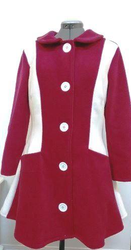 Woman's Fashion - Custom designed lined fleece coat