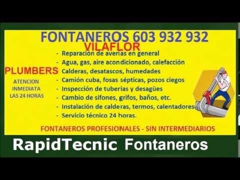Fontaneros Vilaflor 603 932 932 Baratos Servicio Tecnico