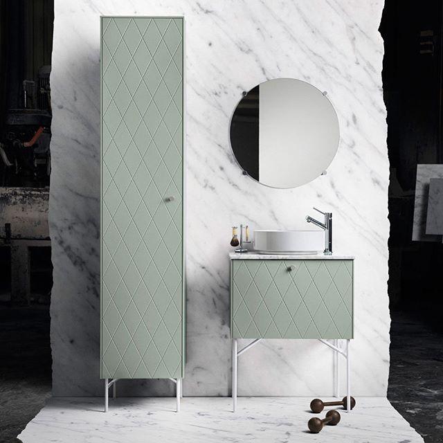 Great inspiration, thanks @superfrontdotcom. Wash basin mixer BI071 Chrome with extension to fit the bowl. #badrum #badrumsinspiration #tvättställ #tapwell #bathroom #bathroomdesign #bathroominspo #chrome
