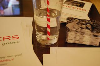 make your own xmas cards with wallet sized prints