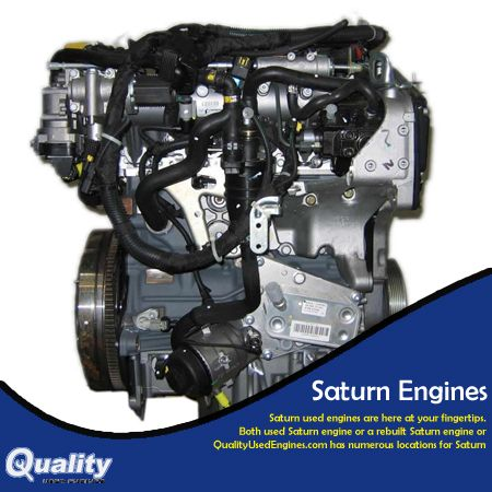 Qualityusedengines Buy A Saturn S Series Engine At Reduced Prices