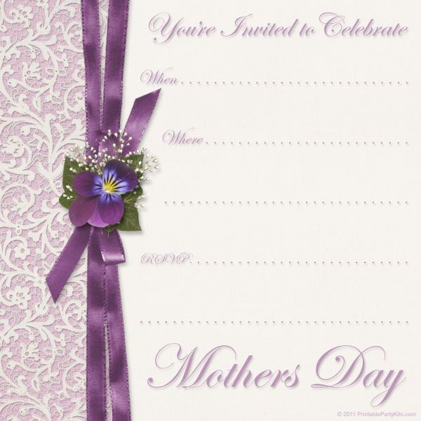 Free Mothers Day Cards Templates Printable Mothers Day Cards