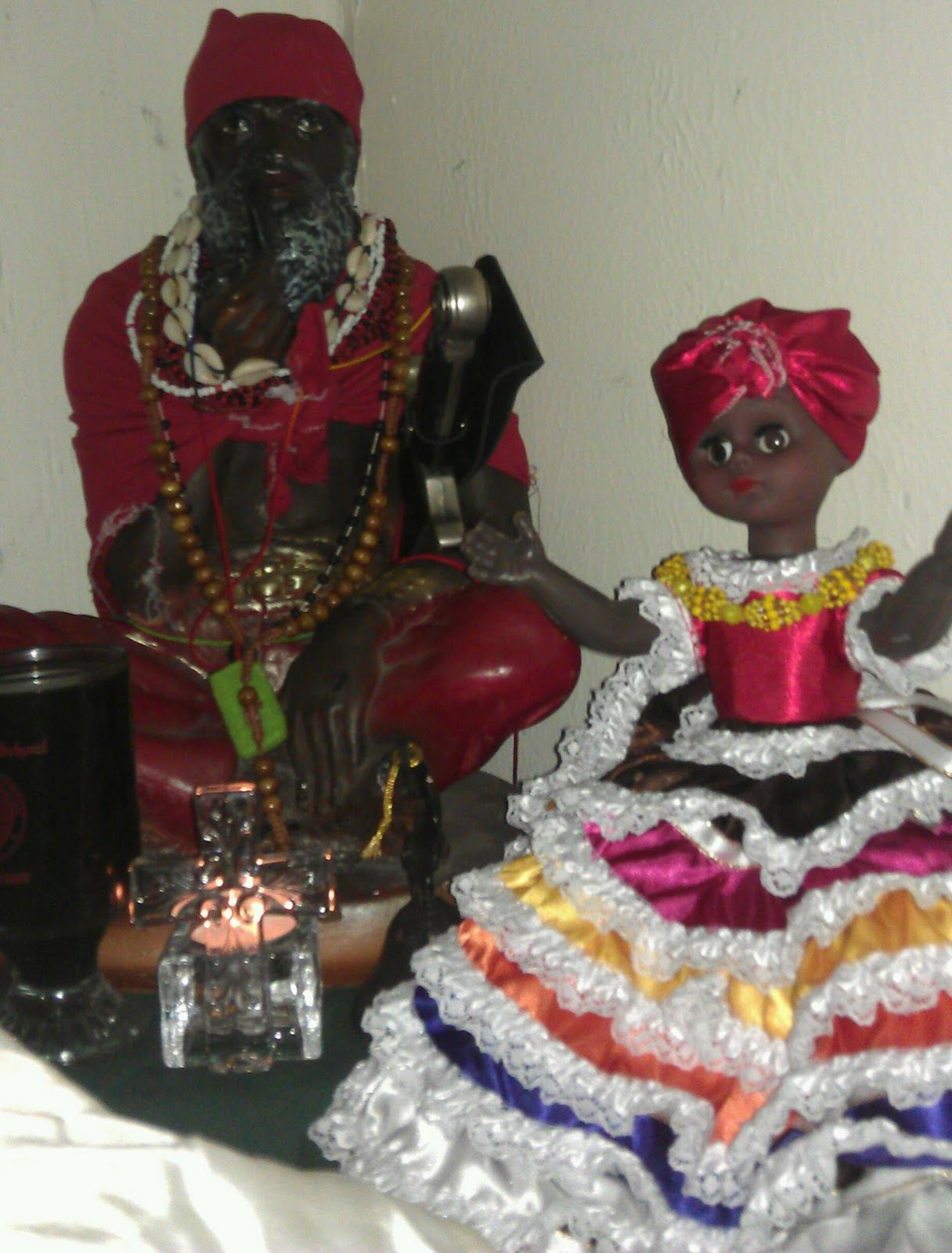 Papa candelo of the santeria tradition  | Ancient Gods Of