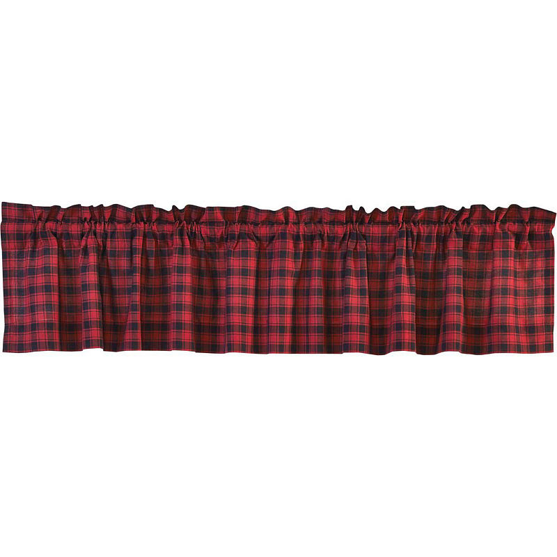 Rustic Amp Lodge Window Cumberland Valance Valance Plaid