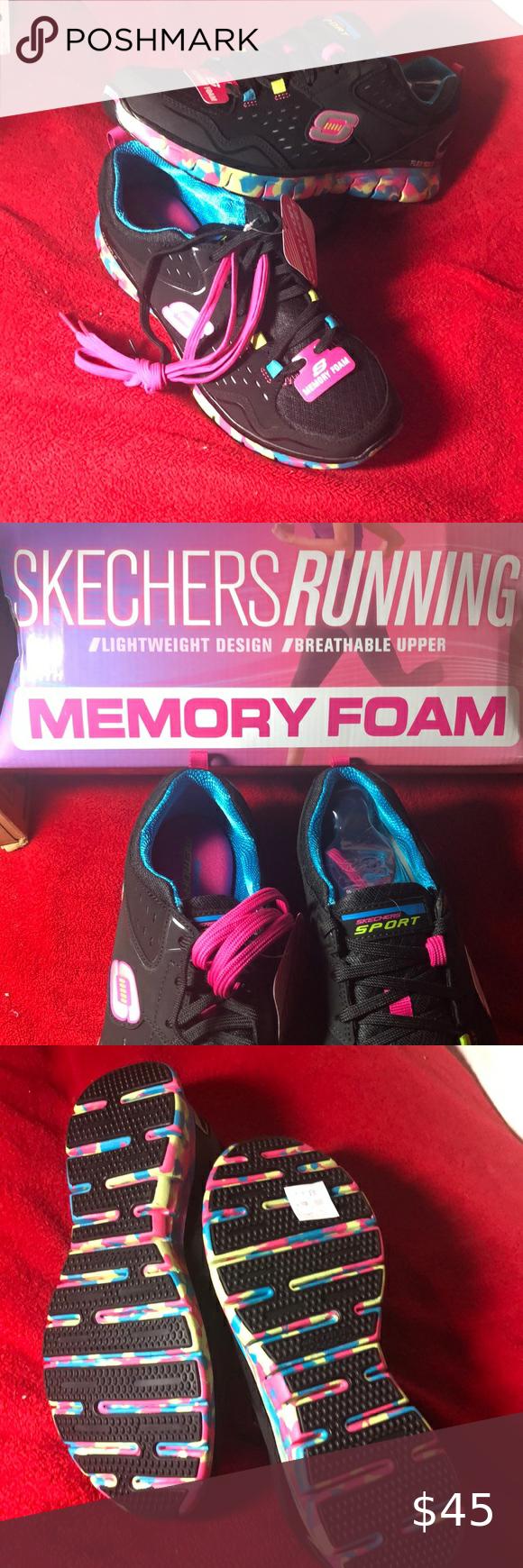 Size 8.5 Skechers NWT Sport memory foam