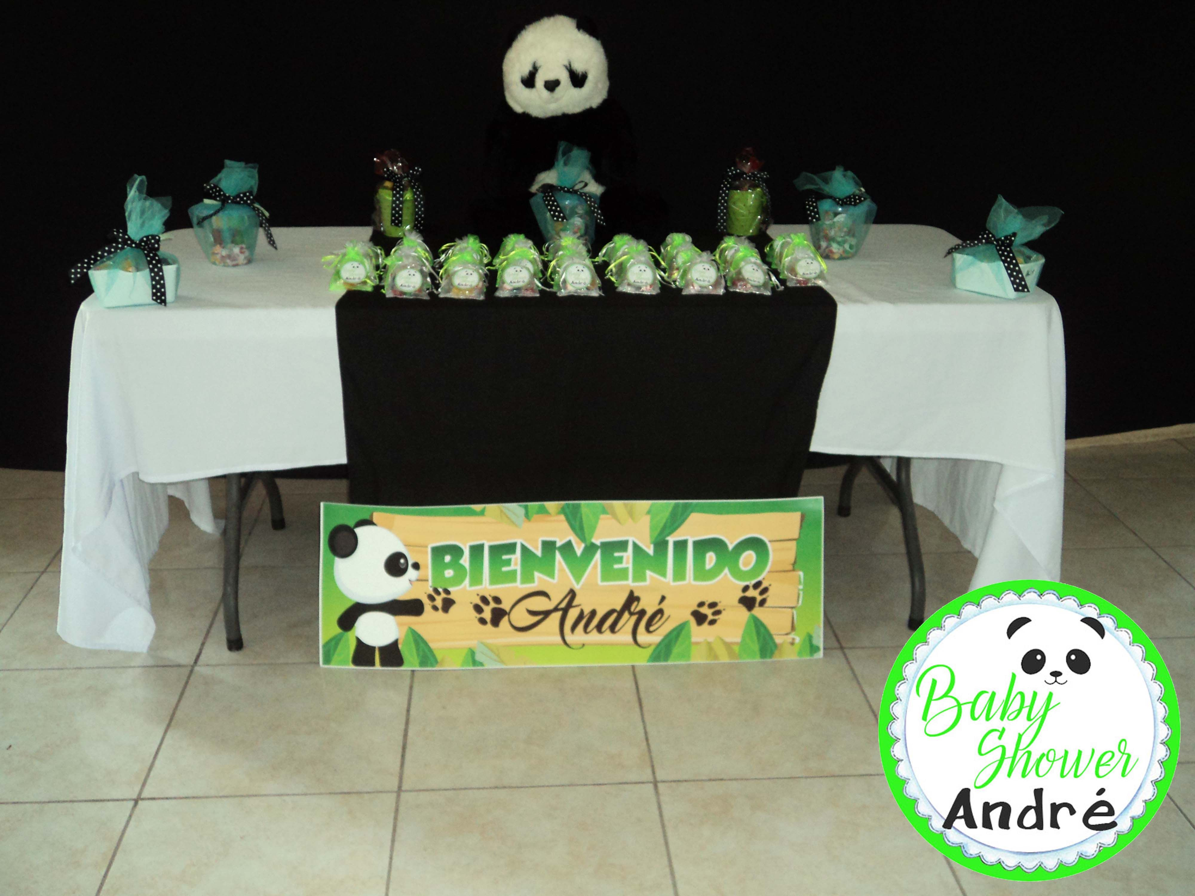 Decoracion panda baby shower baby shower panda - Baby shower decoracion ...