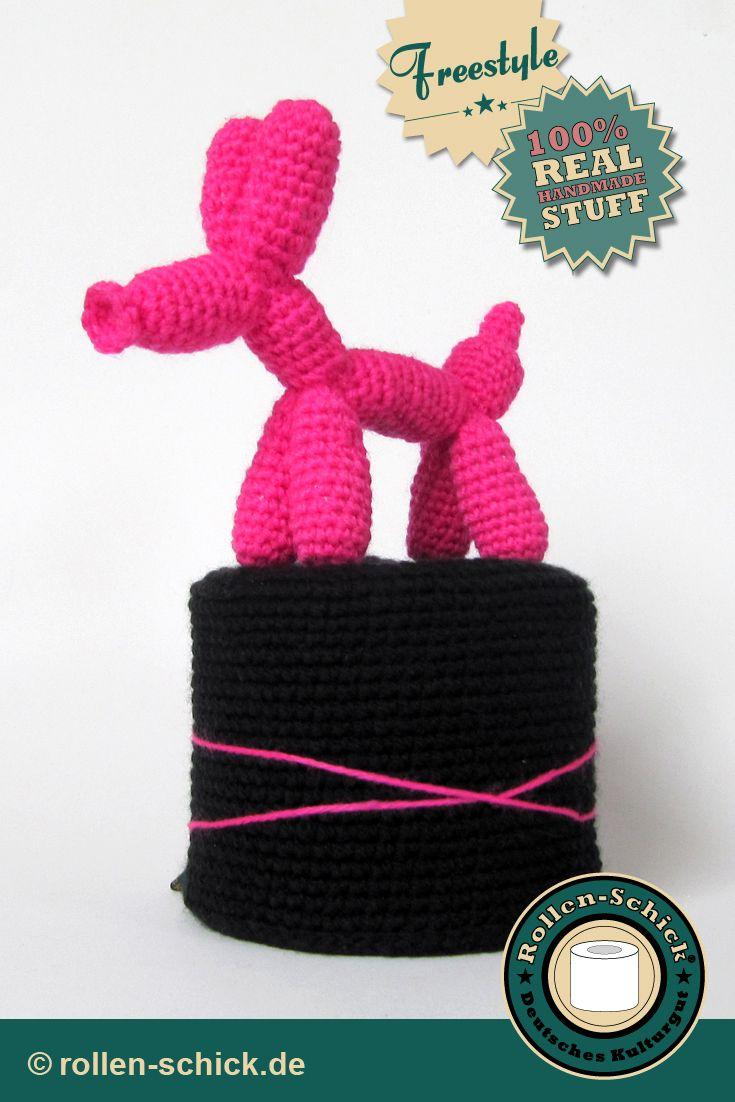 Balloon Dog #amigurumi #crochet #toilettenpapiermütze #häkelhut ...