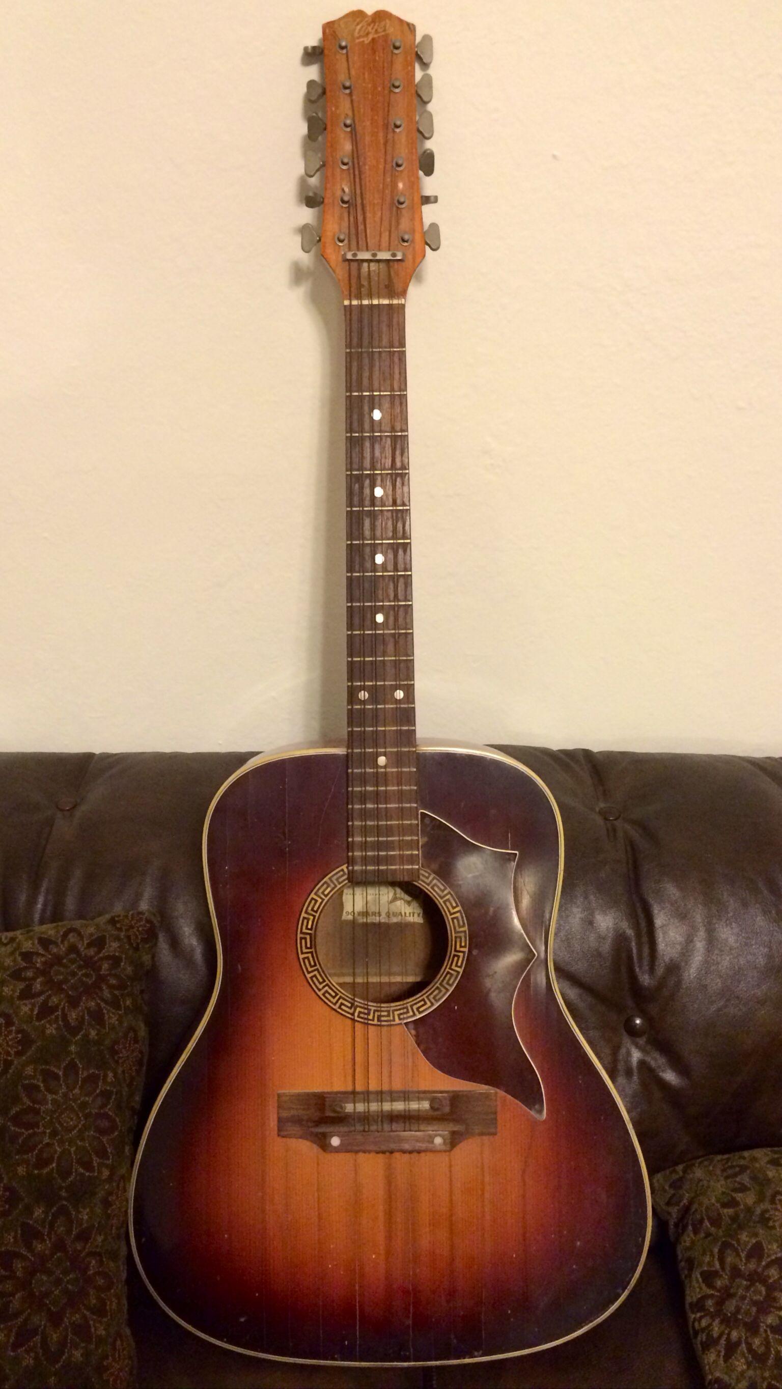 7df503c001d Hoyer 12-string acoustic guitar