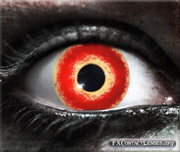 project a devilish vibe with darkside custom sfx contact lenses
