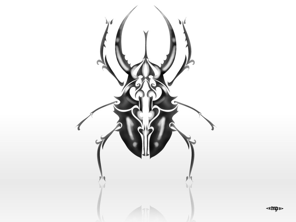 Scarab beetle tattoo scarab beetle tattoo unique black ink design a beetle a beetle biocorpaavc Images