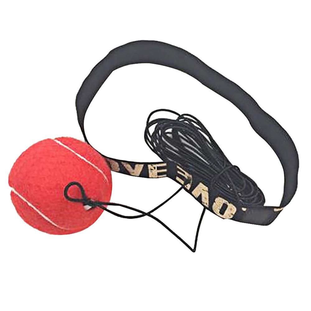 Bouncy Ball Fight Elastic Ball Boxing Equipment with Head Band for Reaction S JV