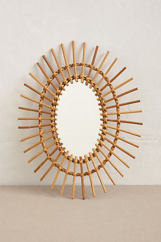 Found In Paris: Bamboo Mirror