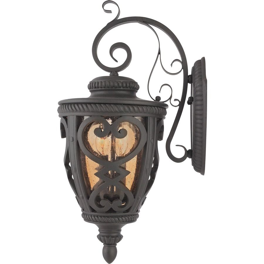Shop allen roth grandura 22 58 in h marcado black outdoor wall allen roth grandura h marcado black outdoor wall light this item by allen roth is part of the grandura collection marcado black steel fix arubaitofo Choice Image