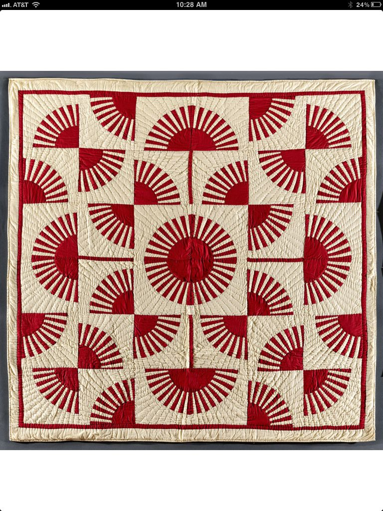 American Folk Art Museum Infinite Variety: Three Centuries of Red and White Quilts.