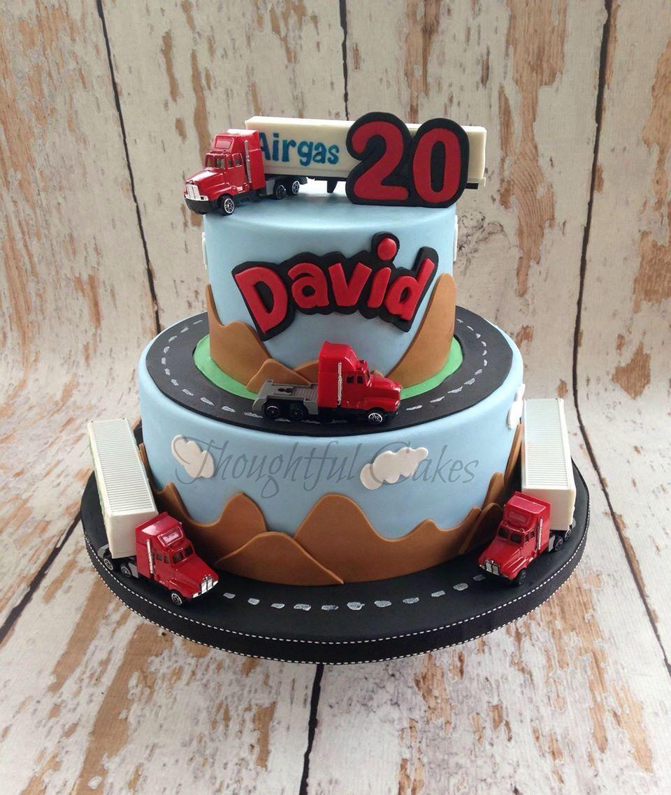 18 Wheeler Cake Thoughtful Cakes Pinterest Cake