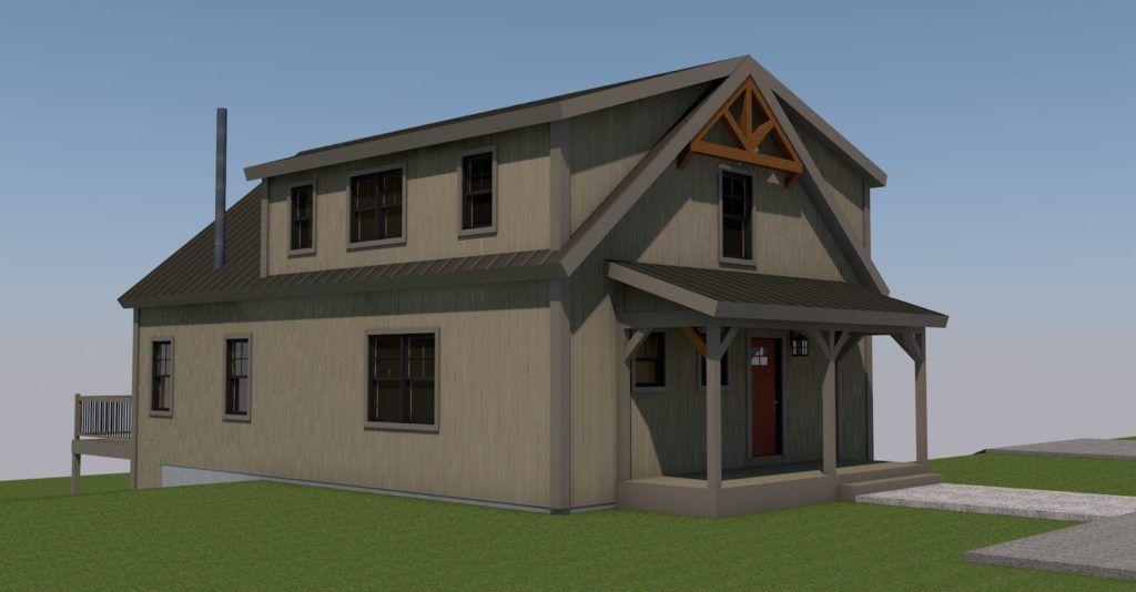 The Mason Back Right Yankee Barn Homes Barn House House Styles