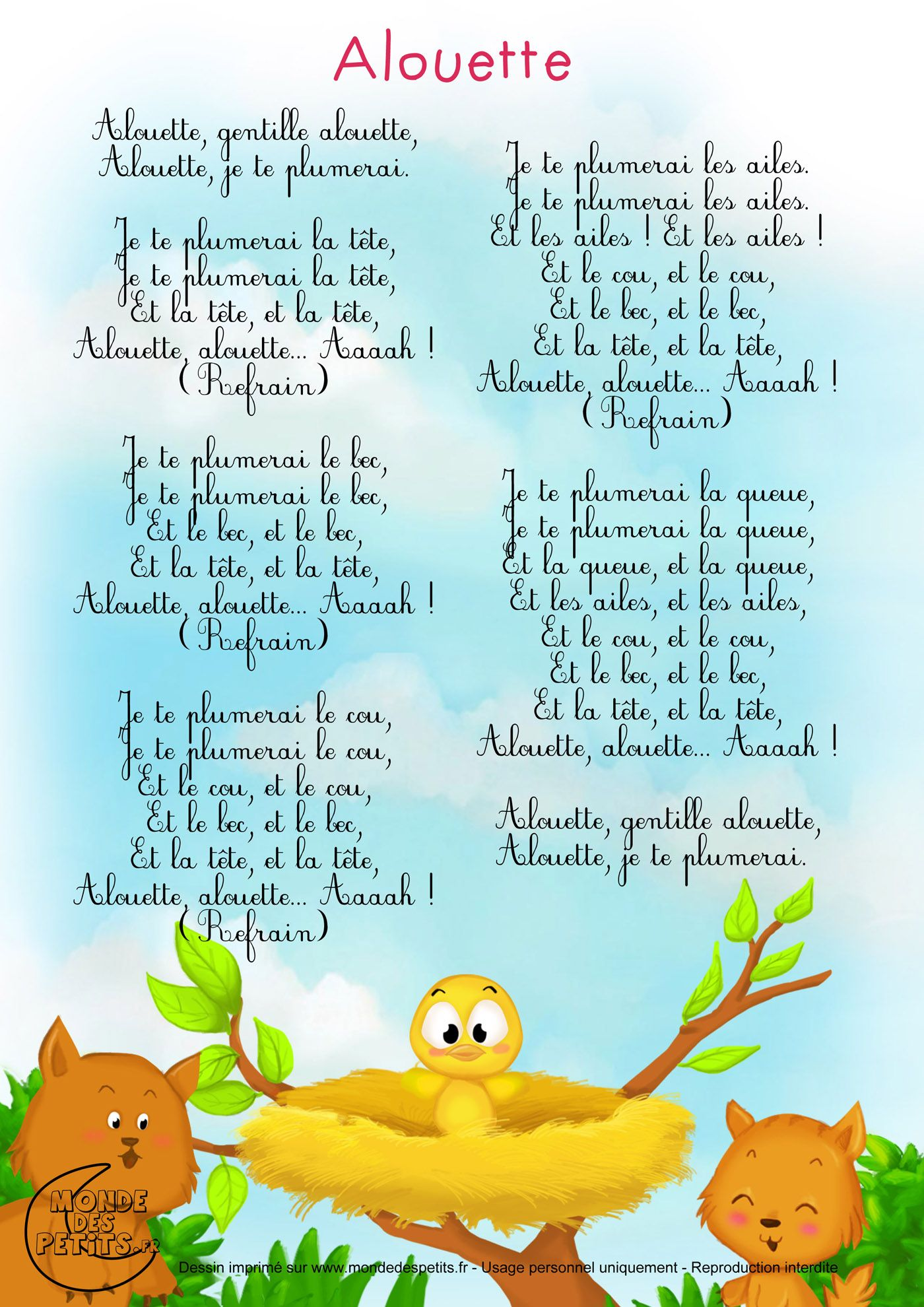 Français Comptine Crèche Comptines Et Enfants Français