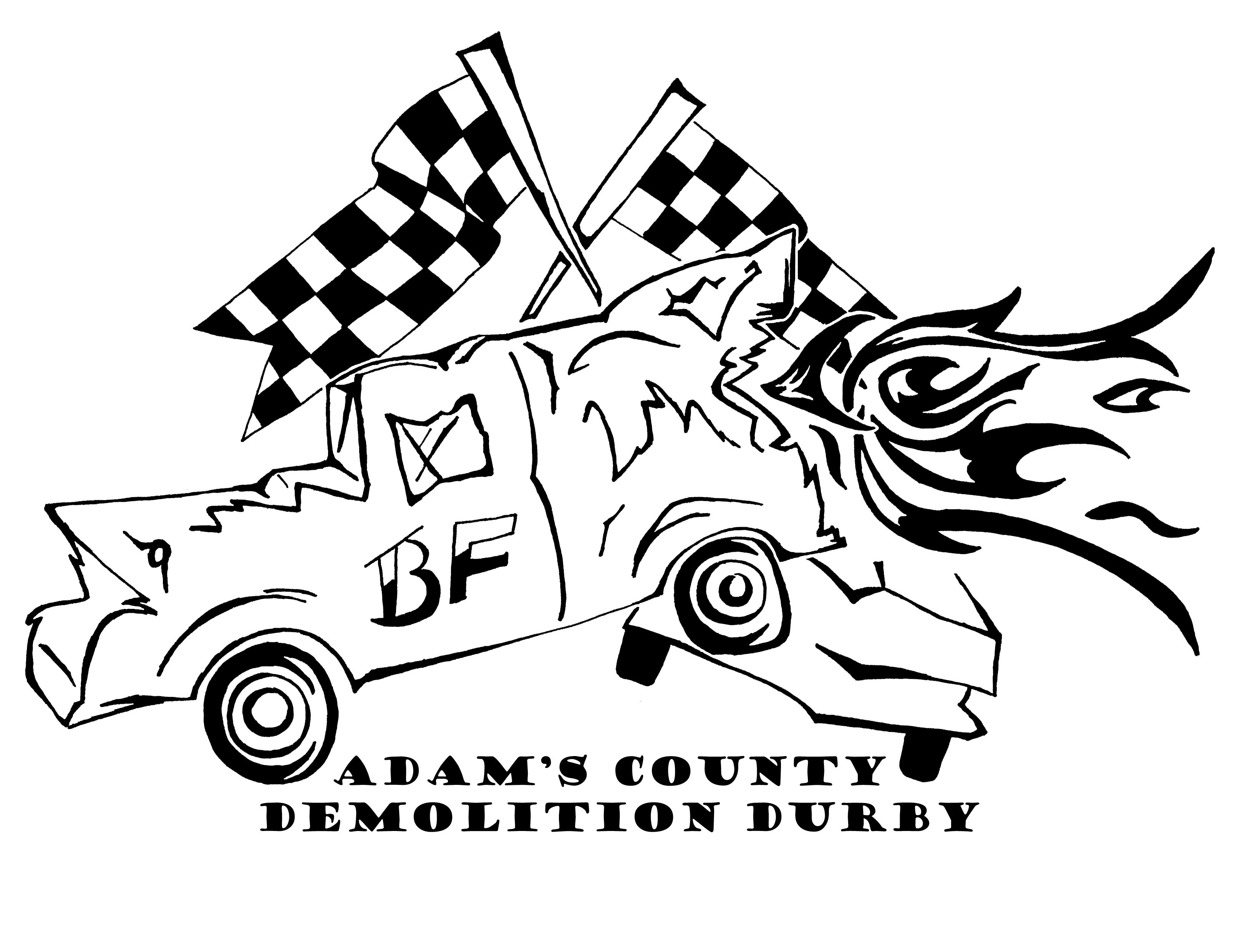 Demo Derby Logo By Rachel Kallenbach Demolition Derby Cars