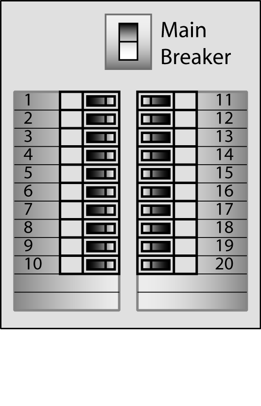 electrical circuit panel labels free printable electrical