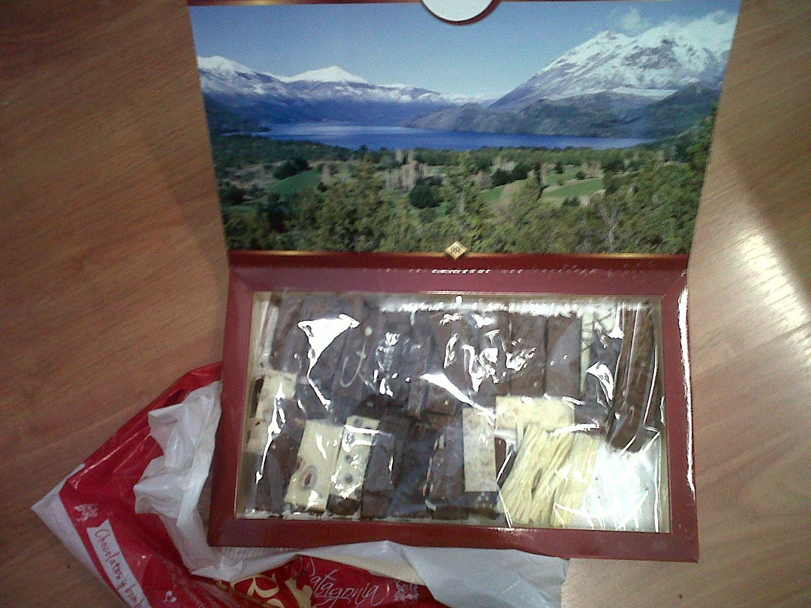 regalo de Nico, de su paseo por Bariloche