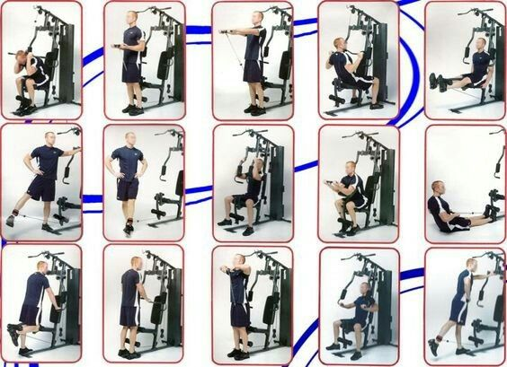 Pin De G En Men Workout Routines