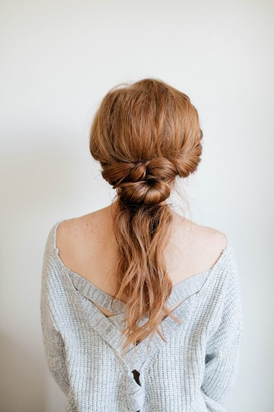 29 Hair Tutorials You Can Recreate In No Time Flat Hair Styles Work Hairstyles Easy Hairstyles For Long Hair