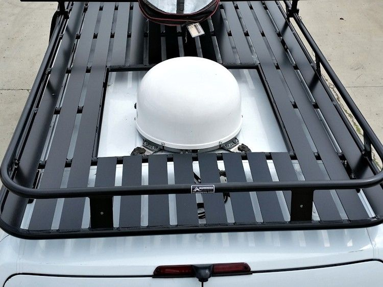 Aluminess Roof Rack Vent Cutout Roof Rack Aluminum Roof Winch Bumpers
