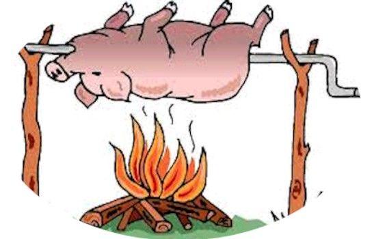hog roast clipart backgrounds clipart images etc pinterest rh pinterest com Pig Roast Flyer pig roast clipart free