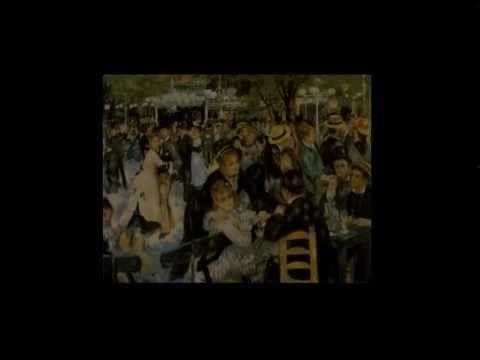 Le Bal Du Moulin De La Galette Renoir Youtube Renoir Art