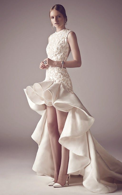 Fashion designing bridal dresses