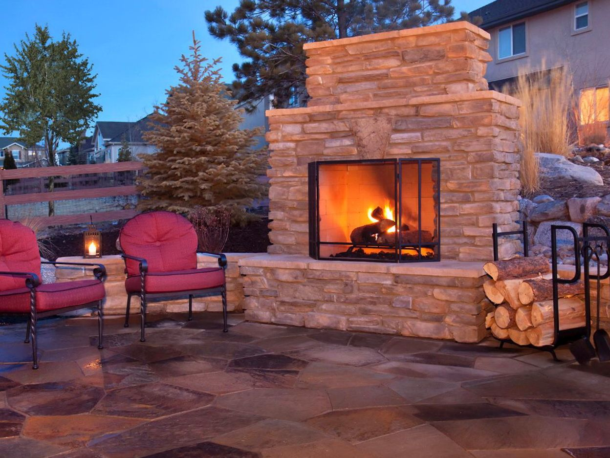 More ideas below: DIY Square Round cinder block fire pit ... on Simple Cinder Block Fireplace id=72787
