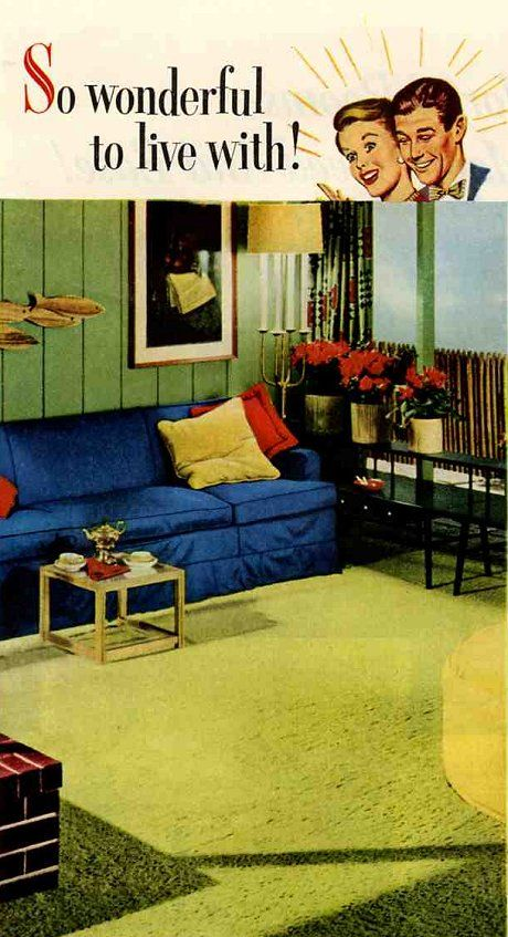 This site is a treasure trove of mid-century interior inspiration!