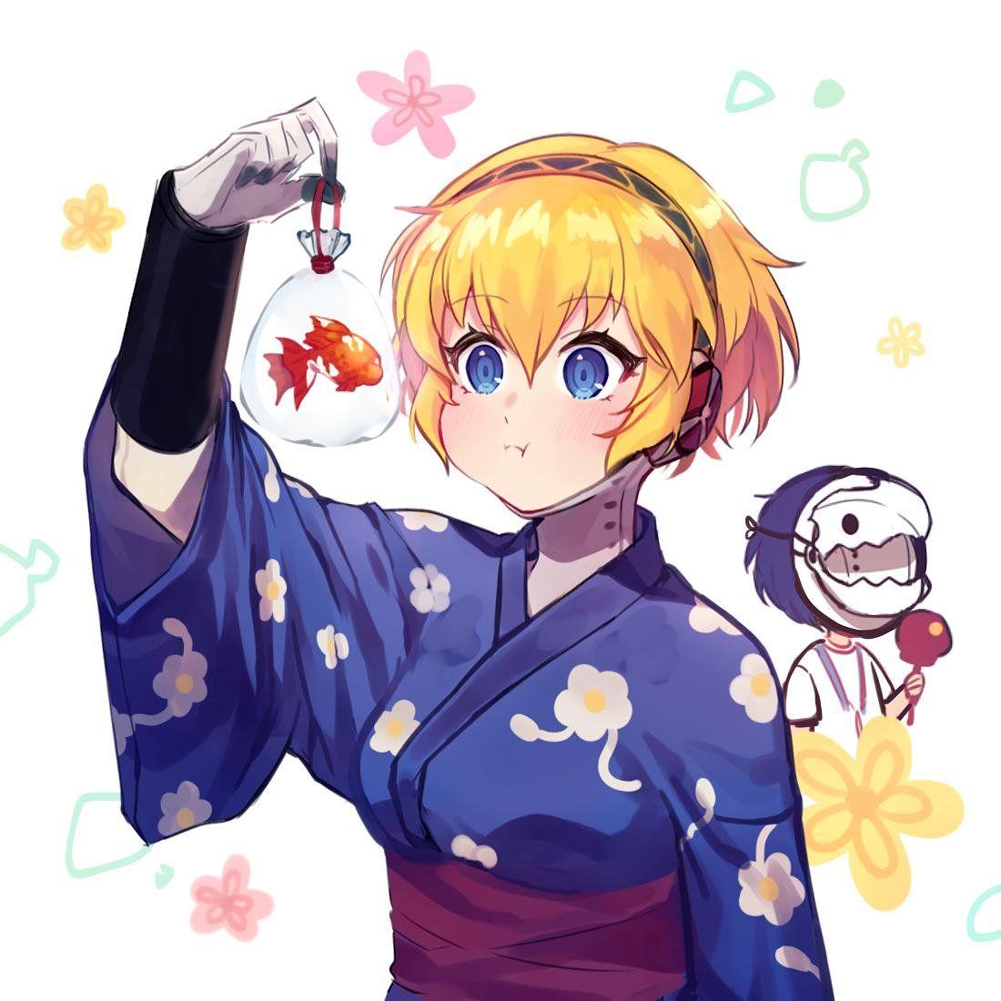 뵤루💤 on Twitter Kawaii anime, Anime, Persona