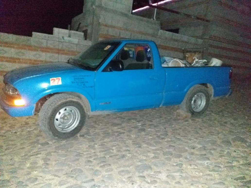 Localiza Sspmsjr Camioneta Con Reporte De Robo En La Valla Con