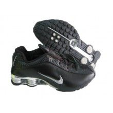 wholesale dealer b324a 3ade5 Nike Shox R4 Glaze black silver