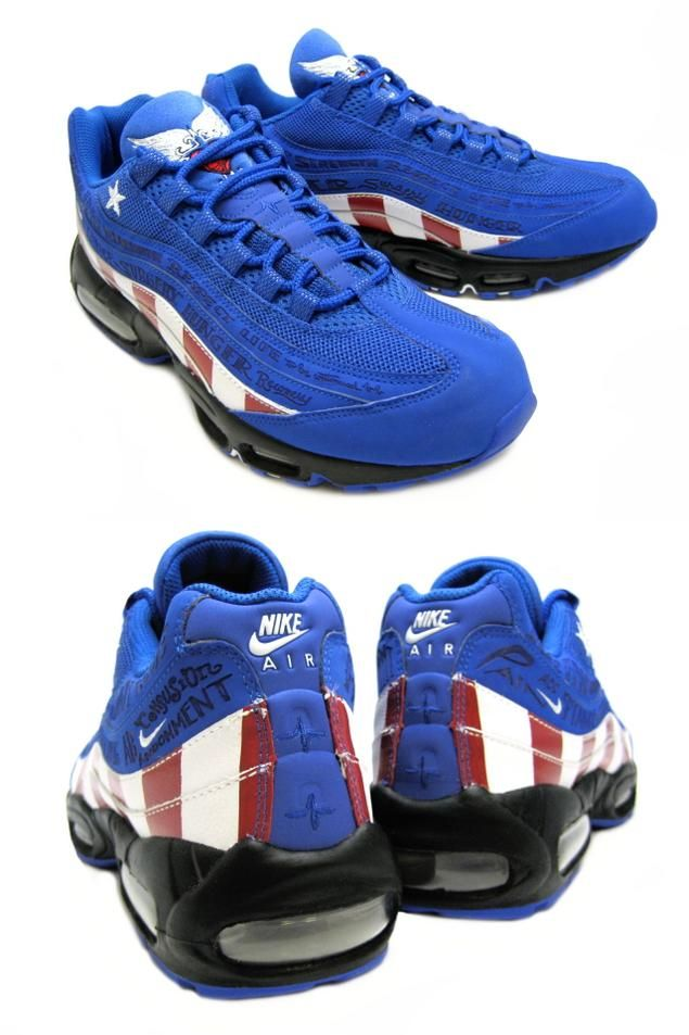 online here super specials latest discount nike-air-max-95-captain-america-1
