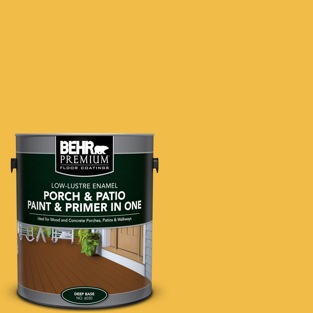 Dominant Gray Low Lustre Interior/Exterior Paint And Primer In One Porch  And Patio Floor Paint