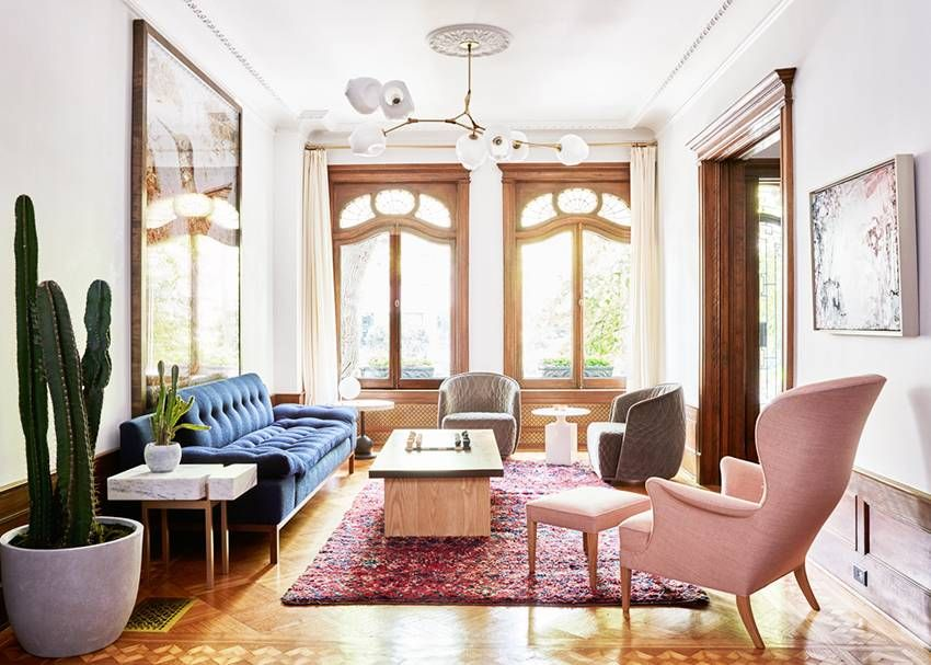 Farewell Minimalism Mixing Furniture Styles Is In Small Room