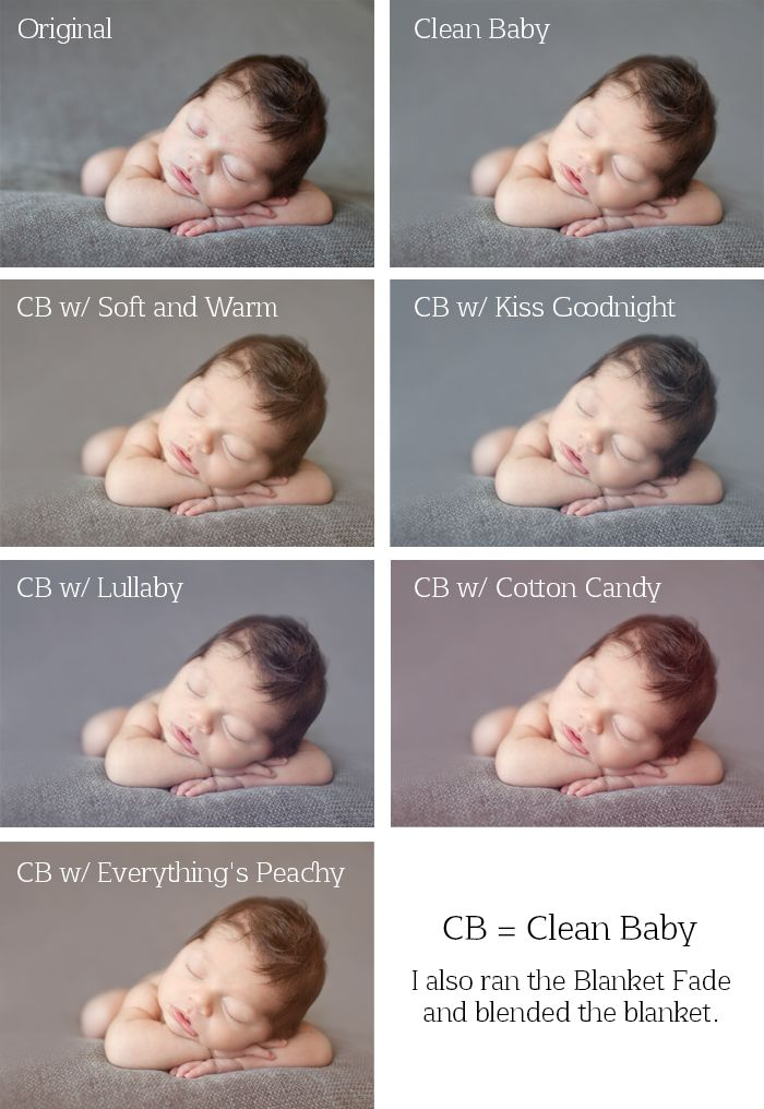 Newborn photoshop actions for elements