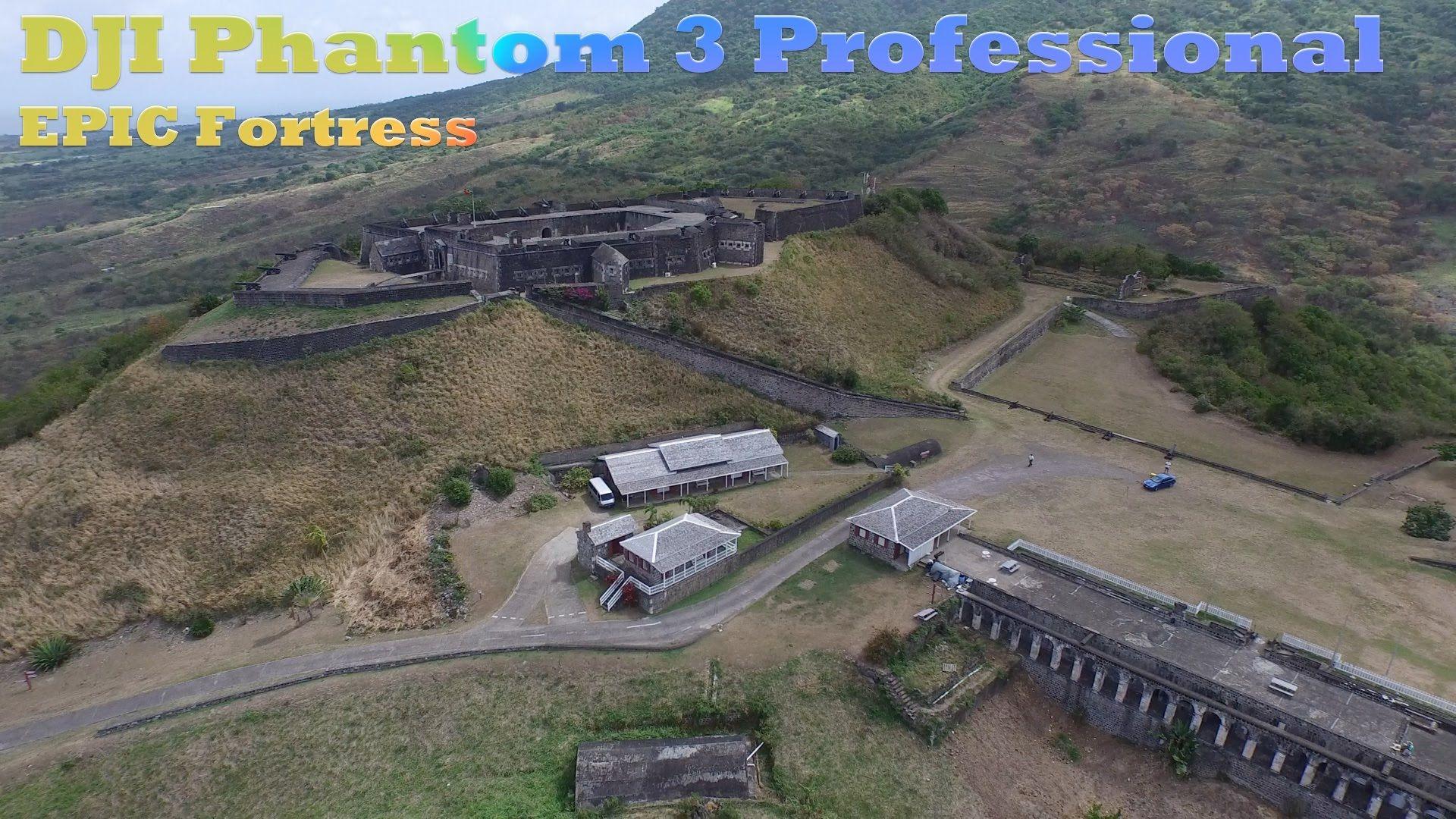 DJI Phantom 3 EPIC Fortress in 4K UltraHD